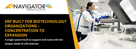See why your Biotech company will benefit from ERP