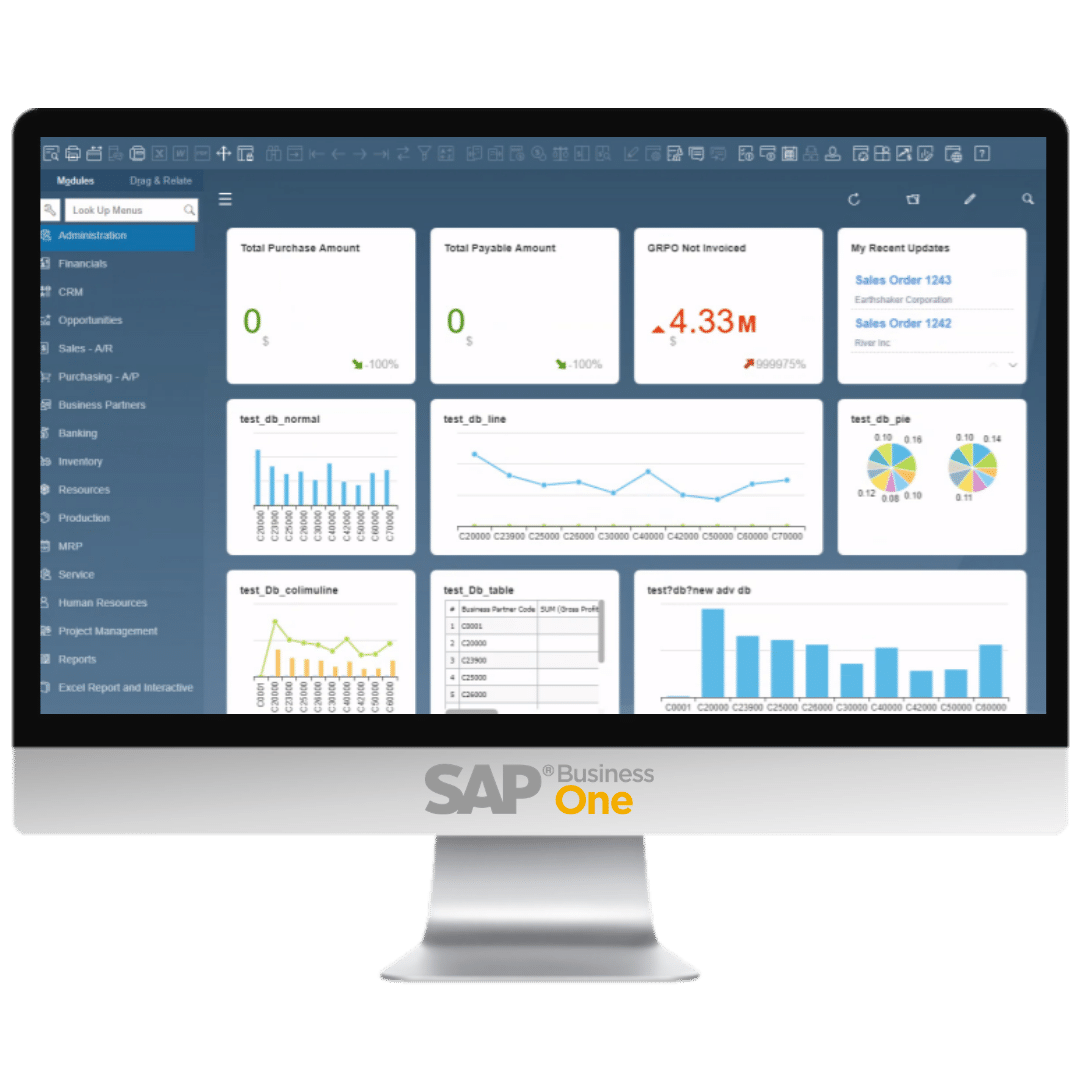 SAP Business One for Life Science, Manufacturing, and Distribution companies