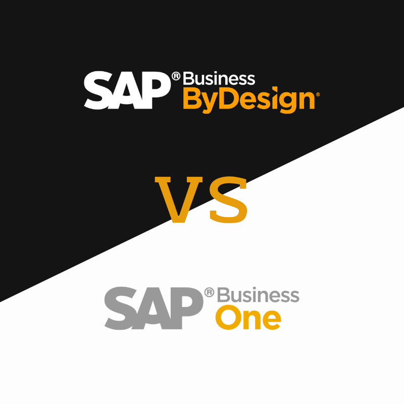 SAP ByDesign VS Business One