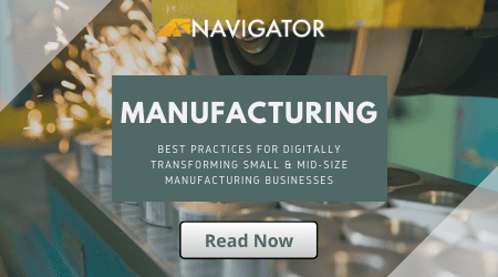 Best Practices for Digitally transforming manufacturing businesses