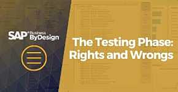 The Testing Phase: Rights and Wrong