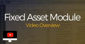 Fixed Asset Module Video