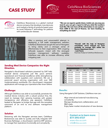 Customer Highlight | CeloNova Biosciences Case Study
