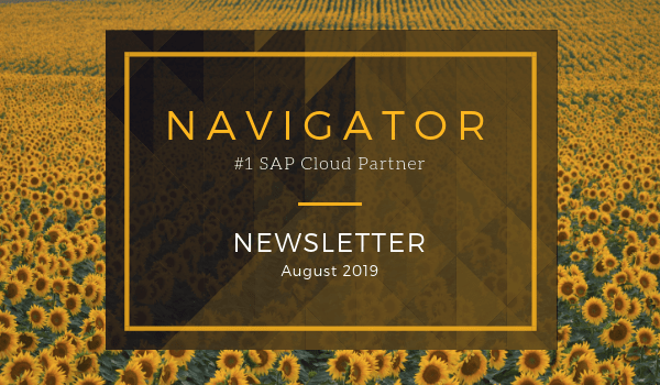 Navigator August Newsletter