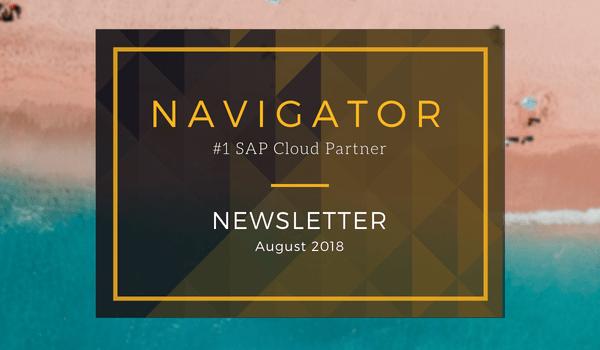 Navigator August 2018 Newsletter