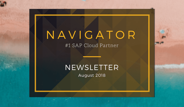 Navigator August 2018 Newsletter