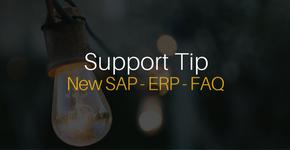 New SAP ERP FAQ Page
