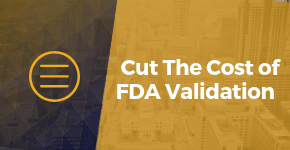 Cut The Cost of FDA Validation with a pre-packaged ERP Solution