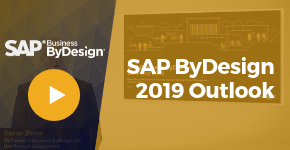 SAP Business ByDesign Outlook 2019