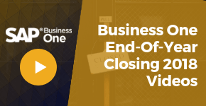 End of Year Closing Video How-To for Business One