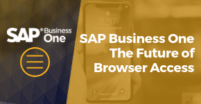 Business One - The Future of Browser Access