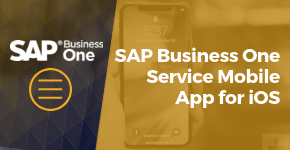 SAP Business One Service Mobile App for iOS