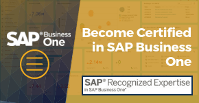 Become SAP Business One Certified