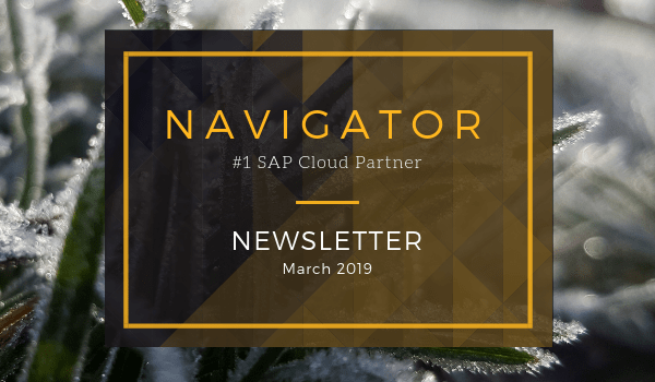 March 2019 Newsletter