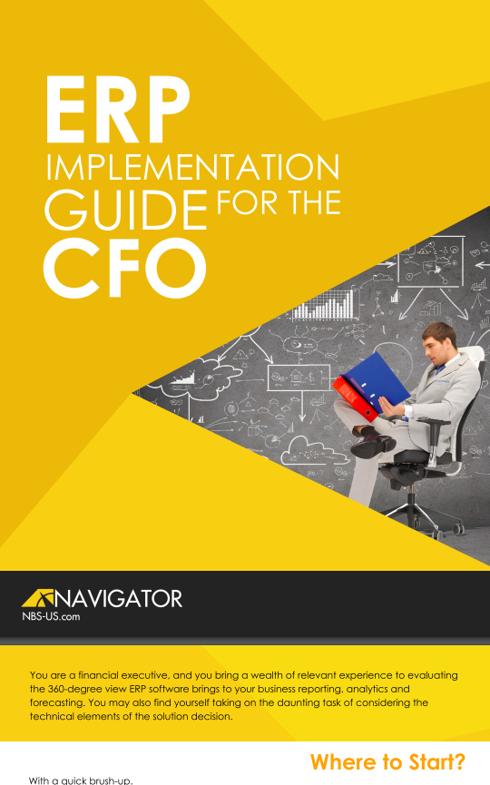 Download the CFO's Guide To Implementing ERP