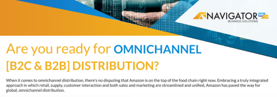 Why Consumer Products Distributors Need Omni-Channel Support