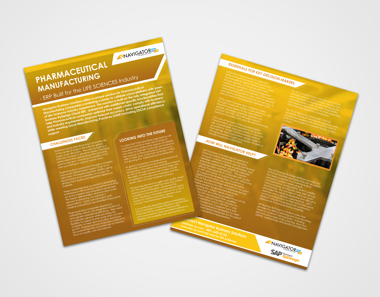 Pharmaceutical Manufacturing Executive Brief