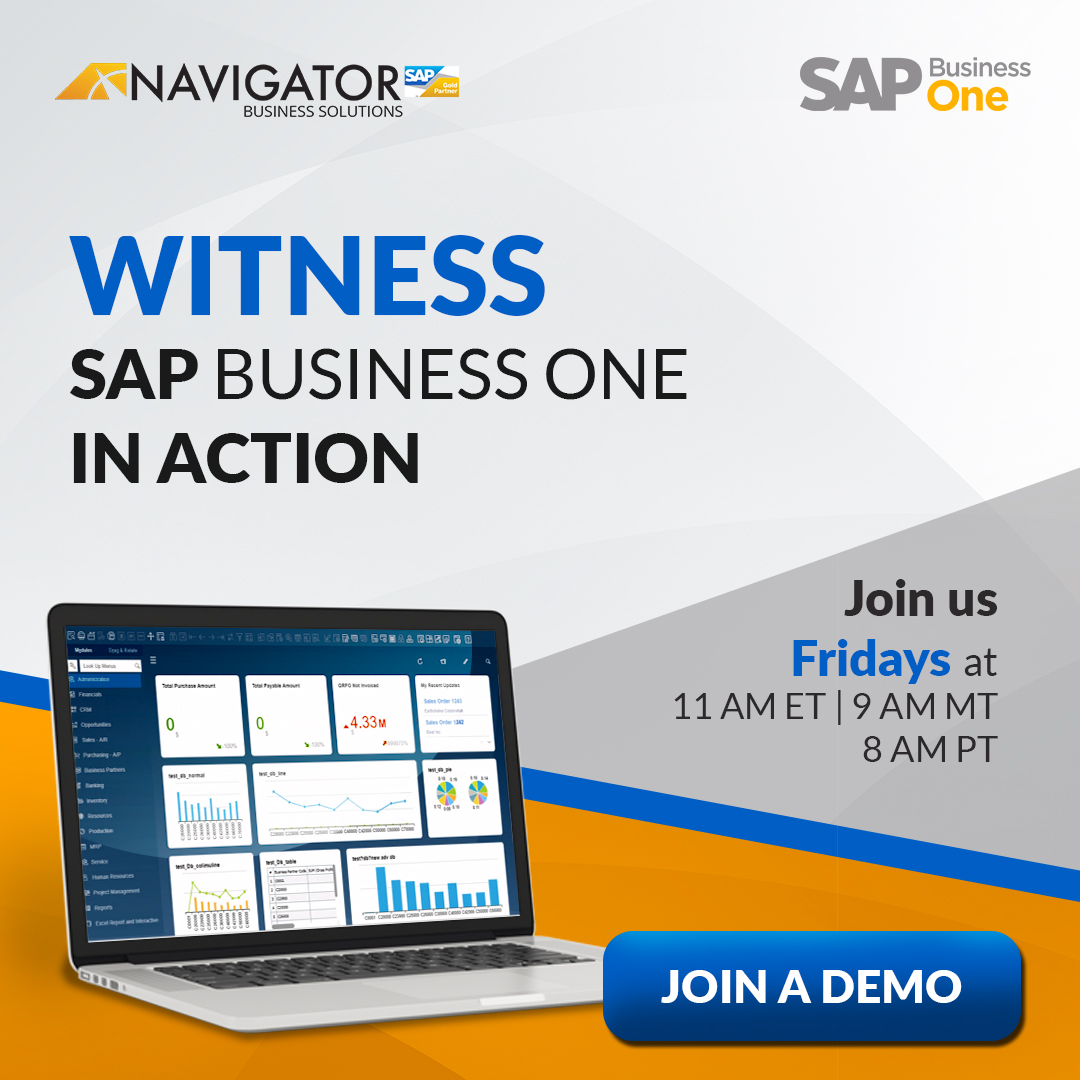 Explore SAP Business One for Distributor and Manufacturing Companies