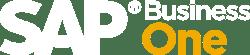SAP Business one - white logo