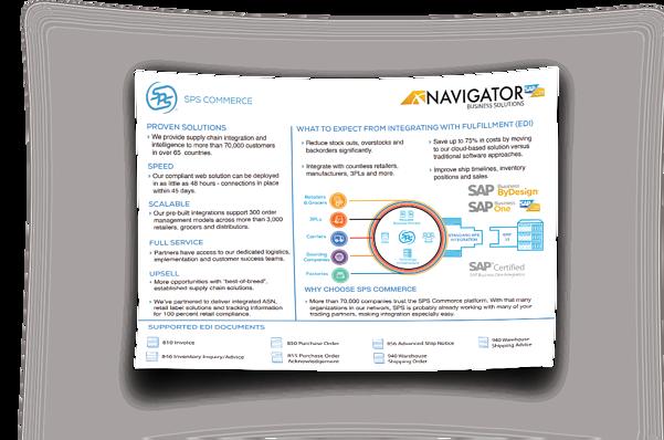 SPS Commerce Integration NBS Thumbnail Overview