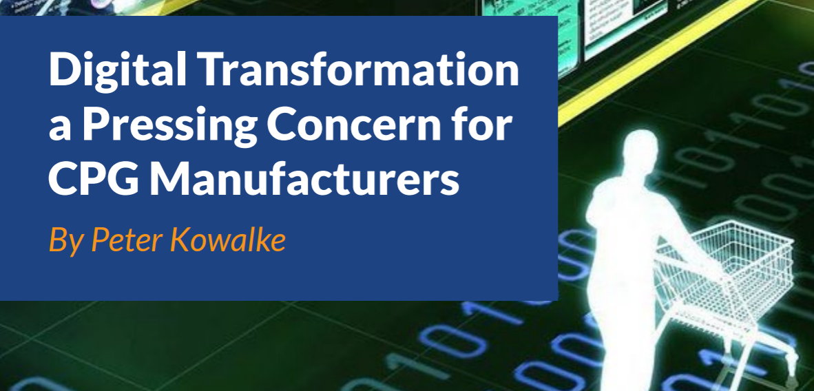 Digital Transformation for consumer product manufacturing companies
