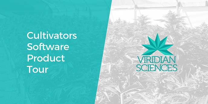 Software product tour for Cultivators and Growers