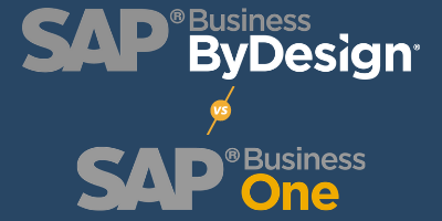 SAP Business One versus SAP Business By Design